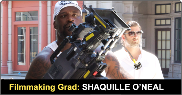 Filmmaking Graduate Shaquille Oneal